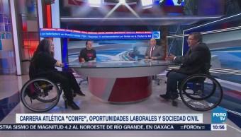 Agenda Discapacidad Carrera Atlética Confe Discapacidades