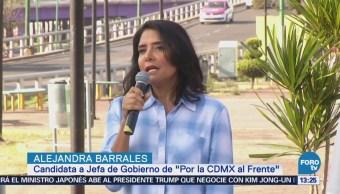 Alejandra Barrales Compromete Ampliar Red Transporte Público