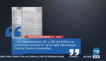 AMLO difunde en redes documentos sobre departamentos señalados por Meade