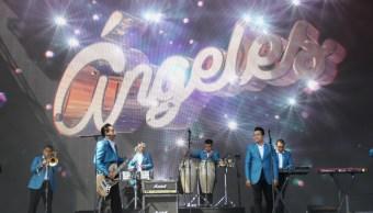 Los Ángeles Azules ponen a bailar al público de Coachella