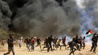 Periodista palestino murió por disparos israelíes en las protestas en Gaza