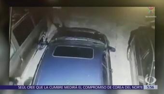 Asaltan con violencia a conductor en Naucalpan, Edomex