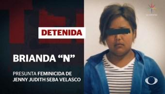 Padres entregan a presunta feminicida de embarazada en Veracruz