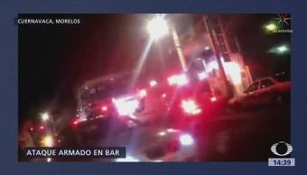 Ataque Armado Bar Cuernavaca