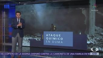 Ataque químico deja más de 70 muertos en Duma, Siria