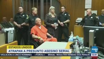 Atrapan Presunto Asesino Serial Estados Unidos