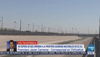 Aún no se presenta la Guardia Nacional en la frontera EU-México