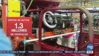 Bajan ventas de autos en Estados Unidos