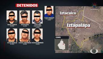 Detienen a seis integrantes de banda de secuestradores 'Los Mier', en CDMX