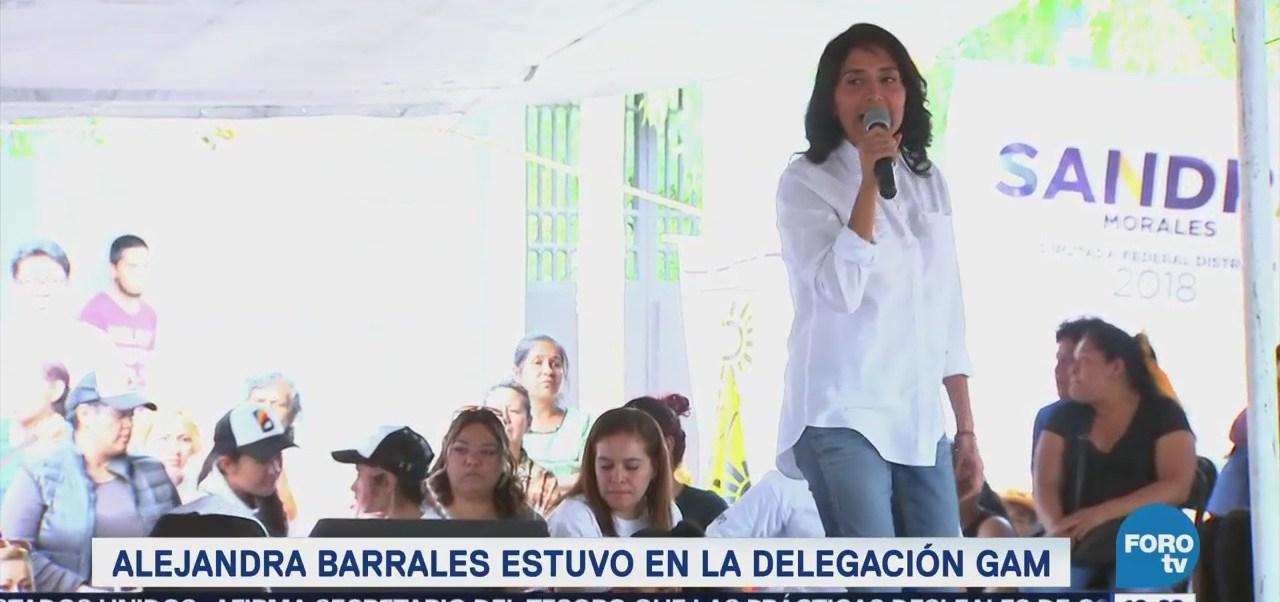 Barrales Defenderá Empleo Digno Bien Remunerado Cdmx