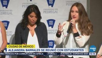 Barrales Escucha Propuestas Estudiantes Universitarios Seguridad