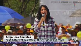 Barrales promete justicia a padres de menores fallecidos en Colegio Rébsamen