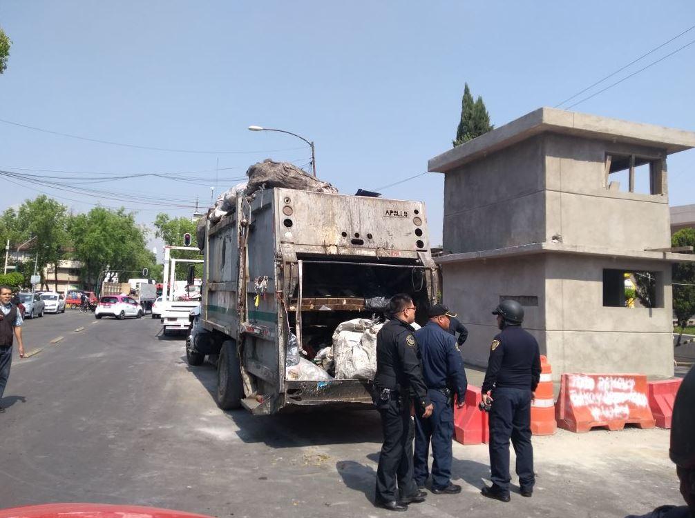 Detectan camiones
