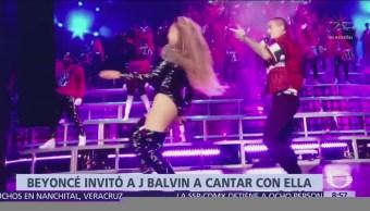 Beyoncé y J. Balvin actúan juntos en Coachella