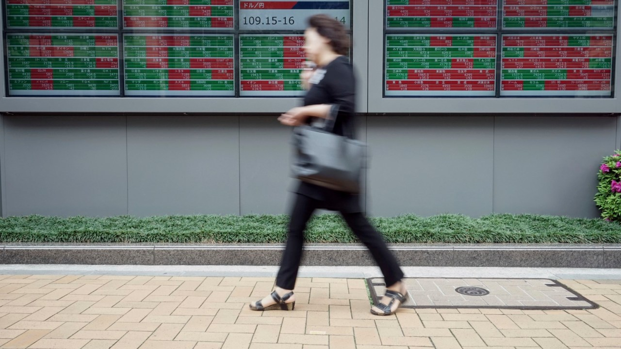 Bolsas de Asia cierran al alza en última sesión de abril