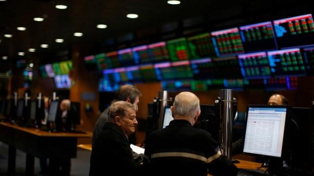 Bolsas europeas cierran la jornada con ganancias