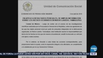 Marina Asume Responsabilidad Muerte Civiles Tamaulipas