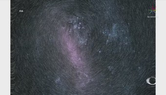 Captan 'huella dactilar' galáctica formada por millones de estrellas
