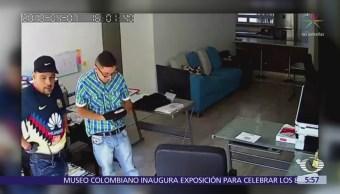 Captan robo a oficinas en la colonia Tlacoquemécatl del Valle