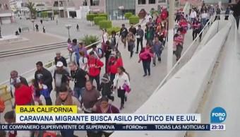 Caravana Migrante busca asilo político en EU