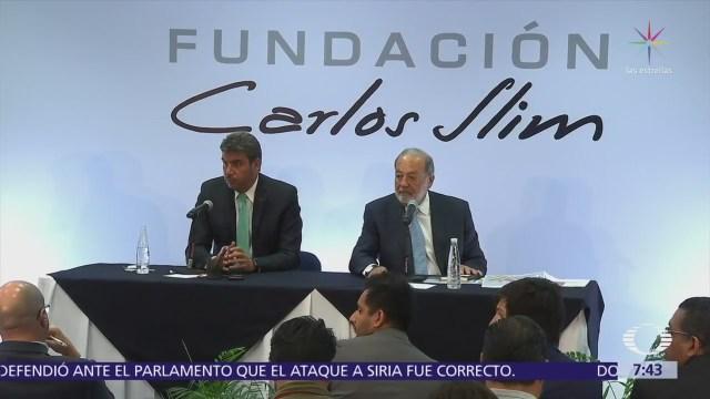 Carlos Slim defiende construcción del Nuevo Aeropuerto Internacional de México