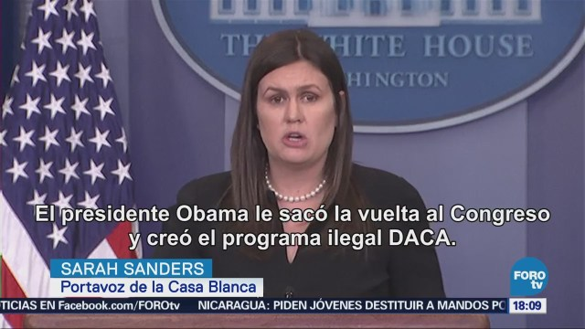 Casa Blanca Critica Fallo Reinstalar Programa Daca