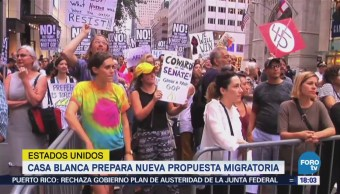 Casa Blanca Prepara Nueva Propuesta Ley Migratoria