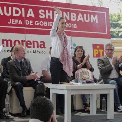 Sheinbaum acusa proselitismo desde el Gobierno de la Ciudad de México