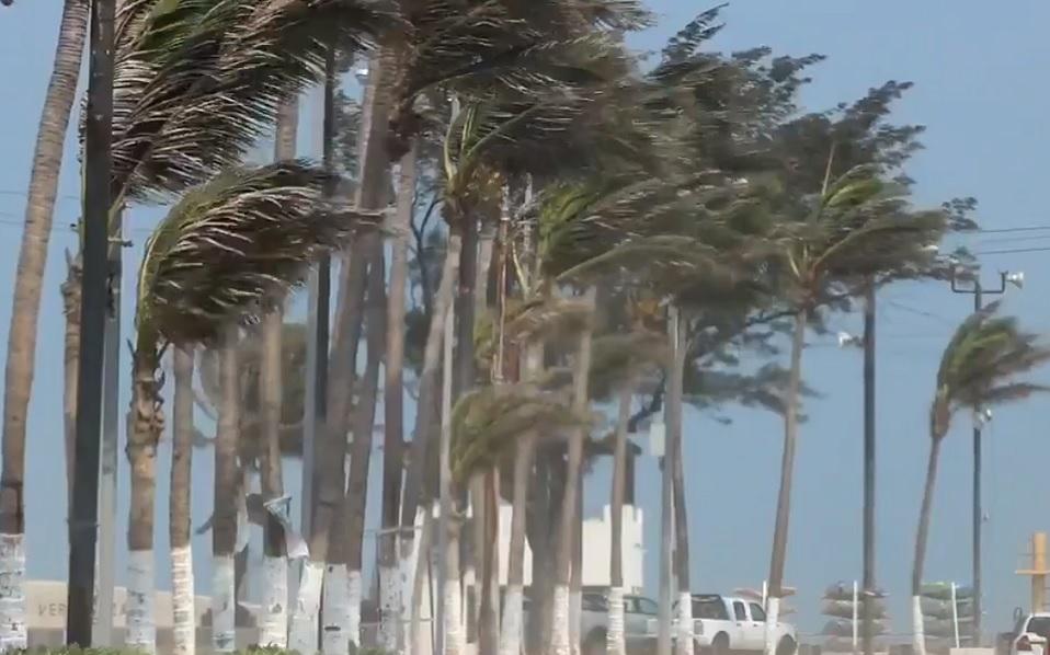 Prevén vientos fuertes en el norte de México por frente frío 45