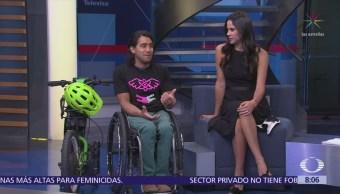 Cómo fue la recuperación y entrenamiento del deportista paralímpico Arly Velásquez
