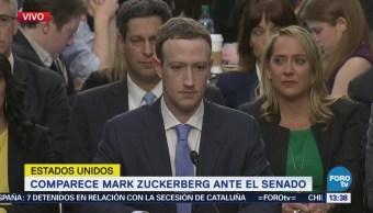Comparece Mark Zuckerberg Ante Senado Eu