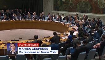 Concluye sesión del Consejo de Seguridad de la ONU sobre ataque Siria