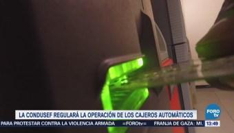 Condusef Analiza Diseñar Normativa Sobre Operación Cajeros Automáticos