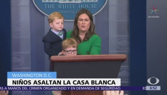 Conferencia de la Casa Blanca se convierte en Jardín de Niños