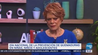 Conmemora Día Nacional de Prevención de Quemaduras en Niñas