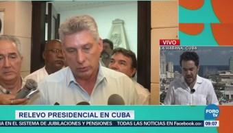 Continuidad en Cuba, promesa del nuevo presidente Miguel Díaz-Canel