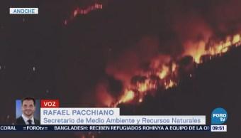 Controlan Incendio Reserva Valle de Bravo