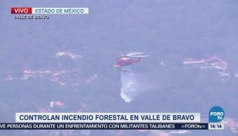 Controlan Incendio Forestal Valle De Bravo Edomex