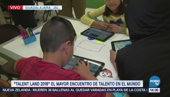 Cuantrix acerca a niños a la programación informática durante el 'Talent Land 2018'