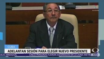 Cuba adelanta sesión de la Asamblea Nacional donde elegirán nuevo presidente