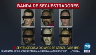 Dan 200 años de prisión a seis secuestradores en Tamaulipas