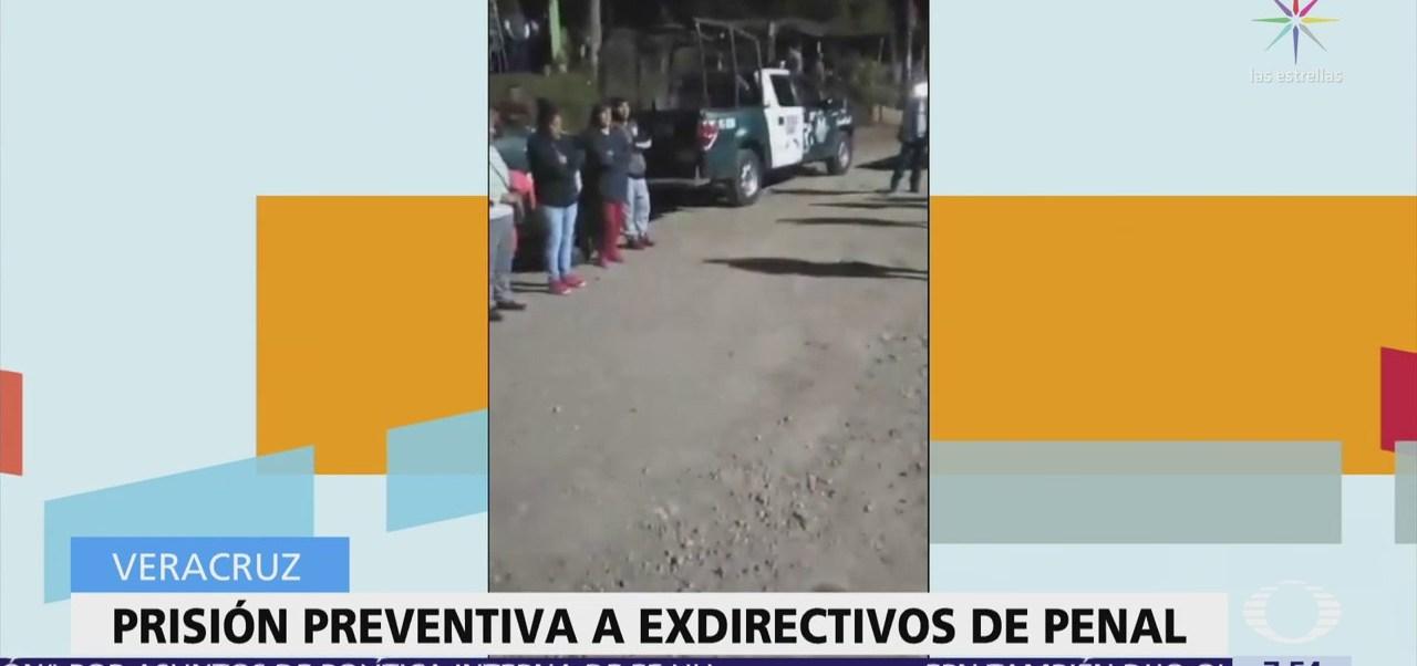 Dan prisión preventiva al exdirector y exsubdirector del penal La Toma en Veracruz
