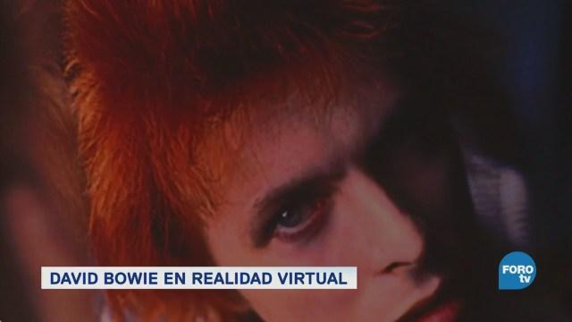 David Bowie regresa a los escenarios con realidad virtual