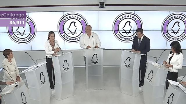 Se enfrentan candidatos al Gobierno CDMX en primer debate
