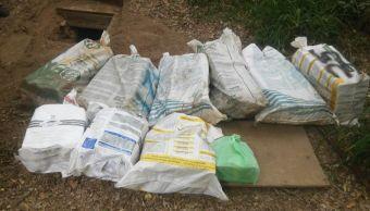 Soldados descubren búnker con cocaína en Tamaulipas