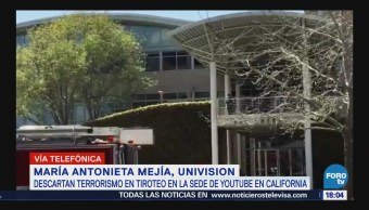 Descartan Terrorismo Tiroteo Sede Youtube