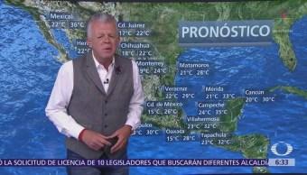 Despierta con tiempo: Continúan las lluvias intermitentes en el país
