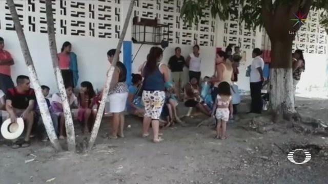 Desplazados Totolapan Llegan Atoyac De Álvarez Guerrero Violencia Éxodo