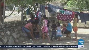 Desplazados Totolapan Permanecen Albergue Atoyac Guerrero