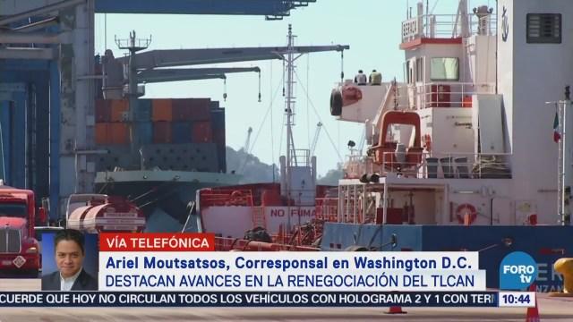 Destacan Avance Renegociación TLCAN México Estados Unidos
